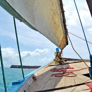 Sailing on a Dhow at Mozambique Island