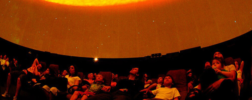 The dome at Iziko Planetarium
