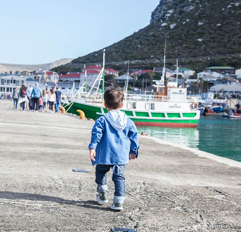 Little boy at Hout Bay Harbour